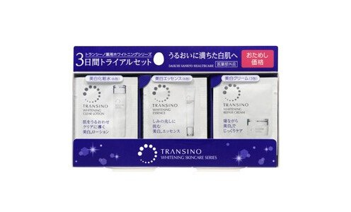 TRANSINO — отбеливание кожи, набор пробников на 3 дня.