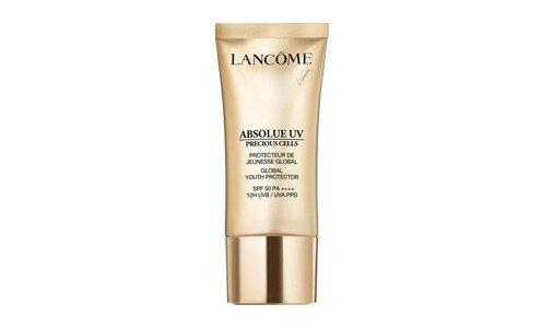 LANCOME Absolue Precious Cells UV — крем против фотостарения кожи