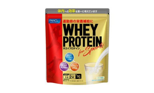 FANCL Whey Protein for Sports — протеиновый коктейль