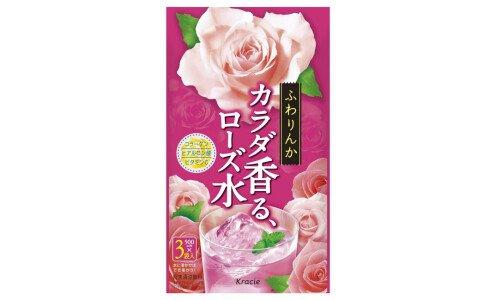 KRACIE Karada Kaoru Rose Water — напиток из розы с коллагеном и гиалуроновой кислотой