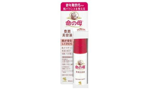 KOBAYASHI Inochi no Haha Rich Moisturizing Essence — сыворотка для ухода за кожей в период и после менопаузы