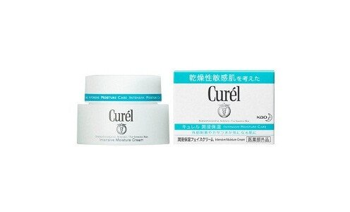 KAO Curel medicated moisture cream — увлажняющий крем.