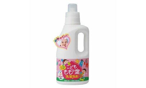 UNIMAT RIKEN  Peach Leaf Laundry Detergent — концентрированный гель для стирки детских вещей