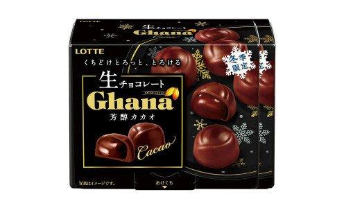 LOTTE Ghana Nama Chocolate Houjun Cacao — сезонный живой шоколад