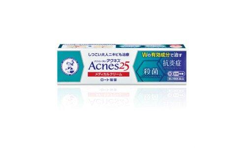 ROHTO Acnes 25 Medical Cream c — лечебный крем против прыщей