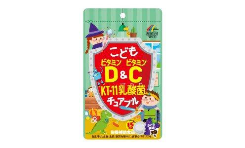 UNIMAT RIKEN Kids Vitamin D&C with KT-11— детский комплекс витаминов и лактобактерий K-11
