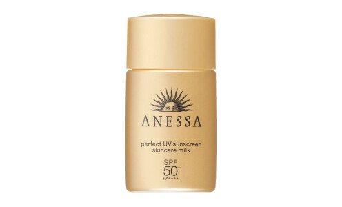 SHISEIDO Anessa Perfect UV Skincare Milk SPF 50+/PA++++ - санскрин для лица и тела, мини размер