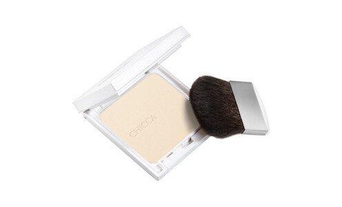CHICCA Radiant Nude Pressed Powder — компактная пудра, сменный блок