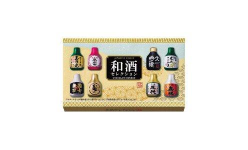 HAMADA Japanese Liqueur — конфеты ассорти с японским алкоголем, 8 штук