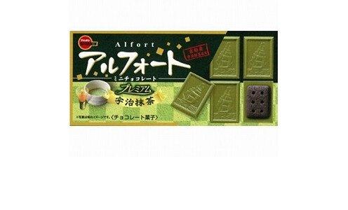 BOURBON Alfort Premium Matcha — шоколад с зеленым чаем с печеньем