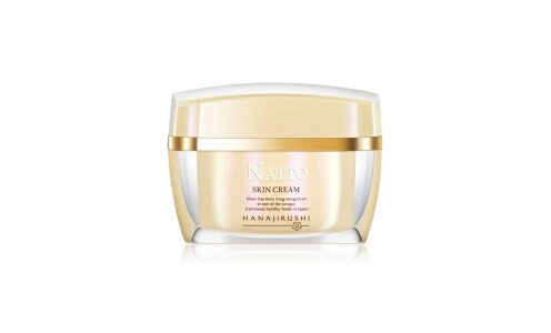 HANAJIRUSHI Premium Natto Skin Cream — питательный крем для лица с экстрактом натто