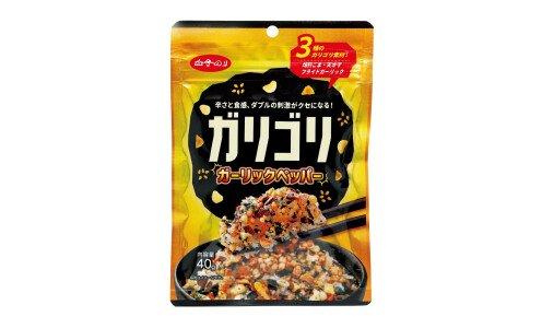 SHIRAKONORI Garigori Garlic Pepper — острое фурикаке с чесноком и черным перцем