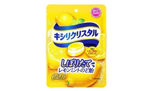 XYLICRYSTAL Lemon Mint — леденцы без сахара со вкусом лимона и мяты, с повышенным содержанием витамина С