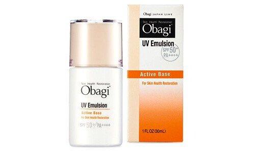 OBAGI Active Base UV Emulsion SPF 50, PA++++ — санскрин для лица с максимальной защитой.