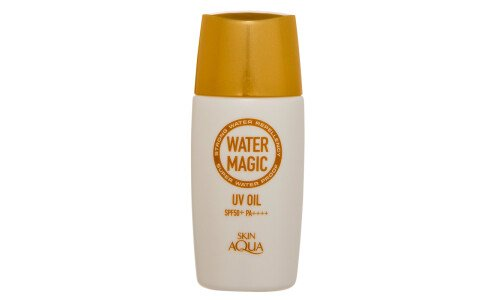 ROHTO SkinAqua Water Magic UV Oil - прозрачное масло для защиты от солнца