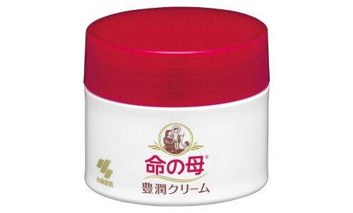 KOBAYASHI Inochi no Haha Rich Moisturizing Cream — крем для ухода за кожей в период и после менопаузы