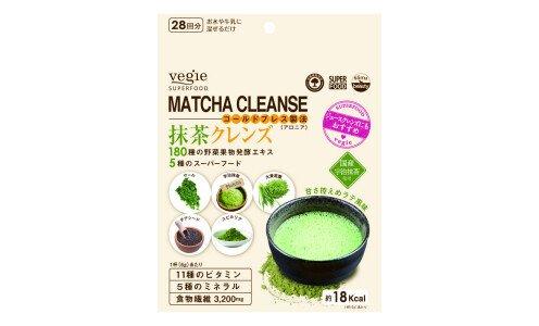 VEGIE Matcha Cleanse — коктейль для разгрузочного дня с матча и спирулиной