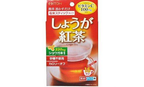 ITOH Ginger Tea — черный имбирный чай.