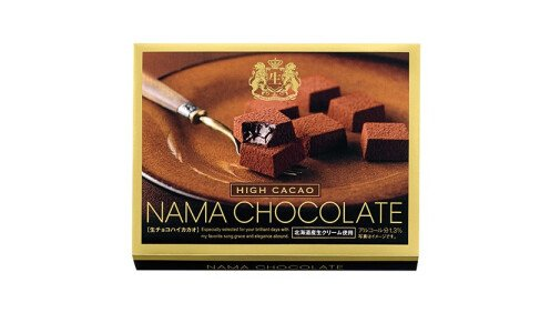 HAMADA Nama Chocolate High Cacao — свежий тающий шоколад, мини-упаковка