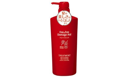 LION Free&Free Damage Aid Treatment — бальзам для поврежденных волос, 500 мл