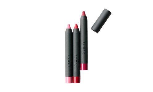 THREE Amplified Spectrum Lip Crayon — помада-карандаш, лимитированный выпуск
