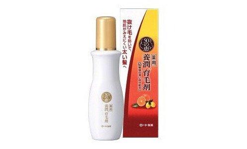 ROHTO Goju no Megumi — эссенция для женщин против возрастной потери объёма и выпадения волос.