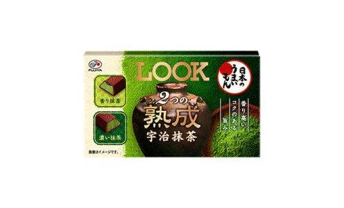 LOOK Double Jukusei Uji Matcha — шоколадные конфеты с выдержанным чаем маття