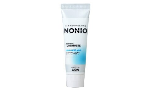 LION Nonio +Medicated Toothpaste — зубная паста против запаха изо рта