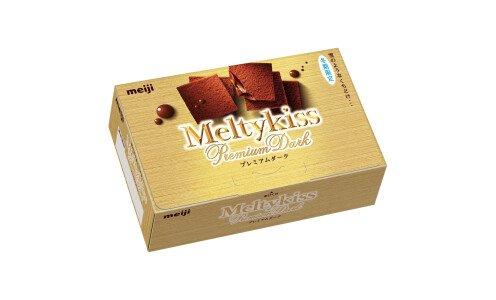 MEIJI Melty Kiss Premium Dark — конфеты из горького шоколада