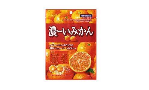 ASAHI Koi Mikan — мандариновые леденцы