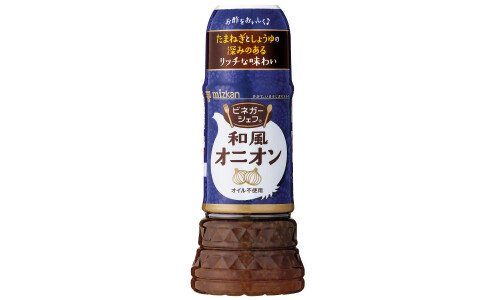 MIZKAN Vinegar Chef Japanese Onion — низкокалорийный японский соус
