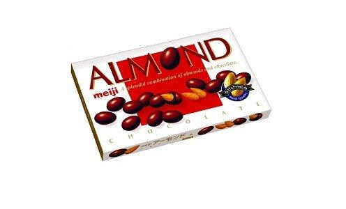 MEIJI Almond Chocolate — миндаль в шоколаде