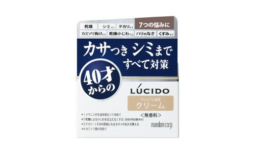 LUCIDO Q10 Ageing Care Cream — антивозрастной крем для мужчин