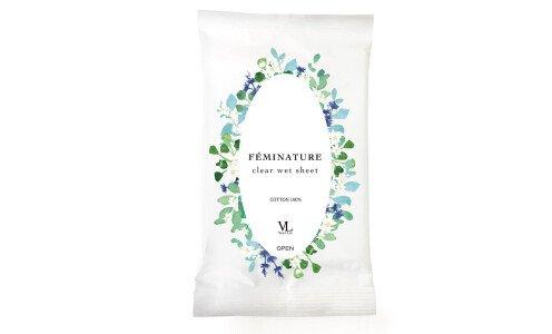 VENUS LAB Feminature Clear Wet Sheet — очищающие салфетки для интимной гигиены