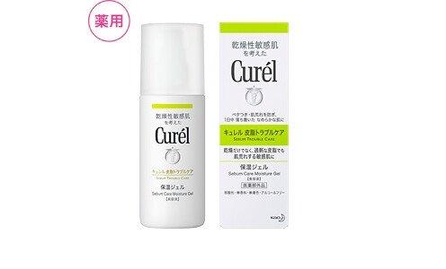 KAO Curel Trouble Care Moisture Gel — увлажняющий гель