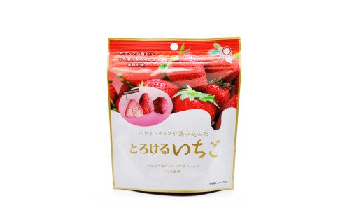 SUGISEIKA Torokeru Ichigo — сублимированная клубника, пропитанная белым шоколадом