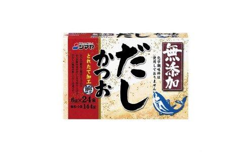 SHIMAYA Mutenka Katsuo Dashi — традиционный бульон даси в порошке, без добавок (24 порции)