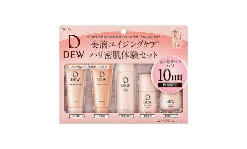 KANEBO Dew Trial Set — мини набор увлажняющего ухода