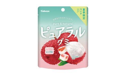 KABAYA Pureral Gummy — фруктовый мармелад со вкусом личи