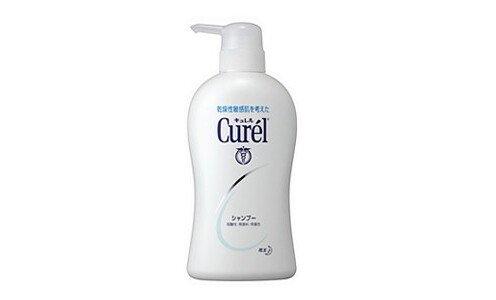 KAO Curel shampoo, Medicated — шампунь для чувствительной кожи головы, 420 мл.