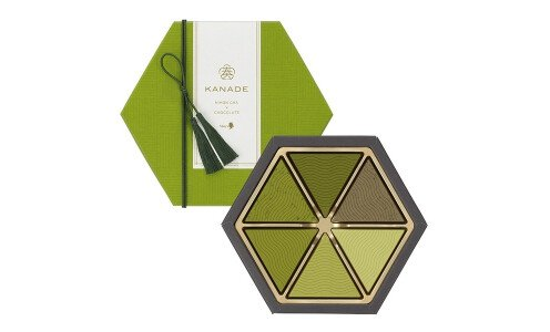 MARY'S Kanade Nihon Cha & Chocolate — шоколад ассорти с 6 сортами зеленого чая