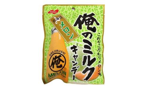 NOBEL Ore no Milk Candy Hokkaido Melon — сливочная карамель с дыней