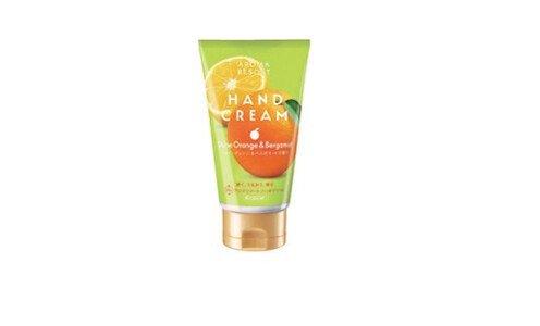 KRACIE Aroma Resort hand cream — крем для рук с ароматом апельсина и бергамота