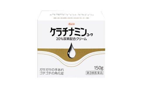 KOWA Keratinamin W — крем для рук и сухих участков кожи, банка 150 г.