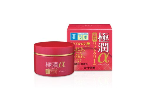 HADA LABO Gokujyun Alpha Moist Lift d Cream — лифтинг крем