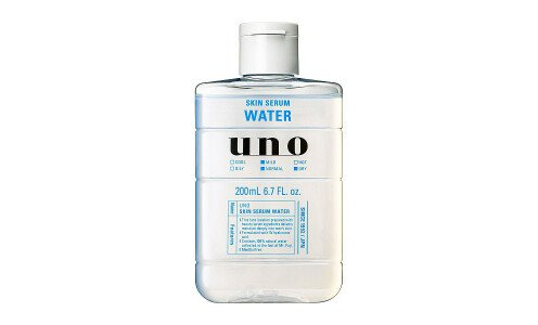 SHISEIDO UNO Skin Serum Water — насыщенный лосьон для мужской кожи