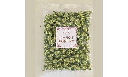 NIKKOH Almond Matcha Chocolate — миндаль в зеленом шоколаде, 500 г