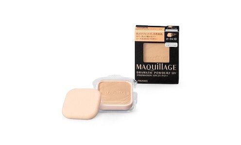 SHISEIDO Maquillage Dramatic Powdery EX — компактная пудра, сменный блок