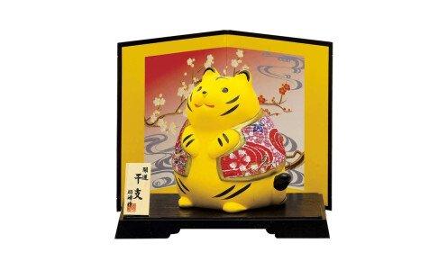 SETO TOGEISHA Символ года 2022 — тигр-толстячок, керамика