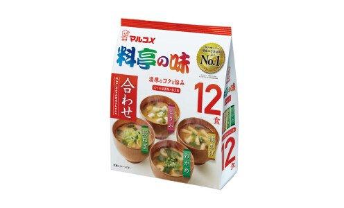 MARUKOME Katei no Aji Misoshiru — набор мисо-супов, 12 порций